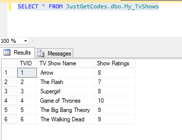 CustomizingSQLQuery